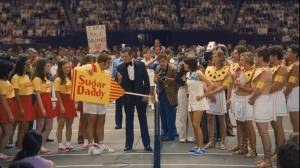 Battle of the Sexes: Steve Carell (Bobby Riggs) en Emma Stone (Billie Jean King)