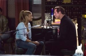 Christina Milian en john Travolta