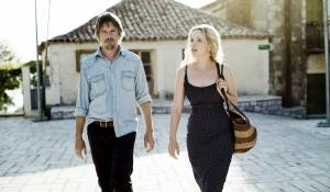 Before Midnight: Ethan Hawke (Jesse) en Julie Delpy (Celine)
