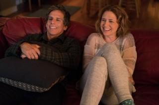 Ben Stiller en Jenna Fischer in Brad's Status