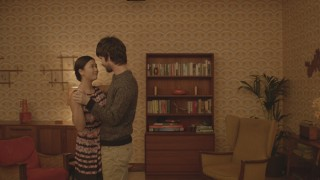 Naomi Christie en Ben Whishaw in Lilting