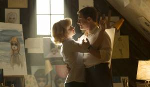 Big Eyes: Amy Adams (Margaret Keane) en Christoph Waltz (Walter Keane)