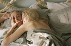 Bill Murray en Sharon Stone in Broken Flowers
