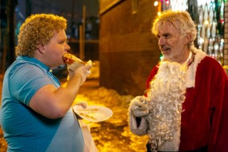 Brett Kelly en Billy Bob Thornton in Bad Santa 2