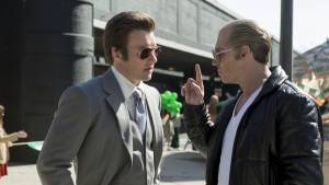 Black Mass: Joel Edgerton (John Connolly) en Johnny Depp (Whitey Bulger)