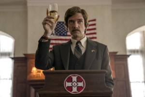 BlacKkKlansman: Topher Grace (David Duke)