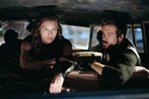 Jessica Biel en Ryan Reynolds in Blade III