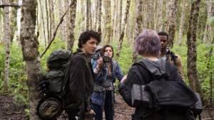 Blair Witch: James Allen McCune (James), Corbin Reid (Ashley), Wes Robinson (Lane) en Valorie Curry (Talia)