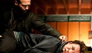 Blitz: Jason Statham (Detective Sergeant Tom Brant) en Aidan Gillen (Barry Weiss / The Blitz)