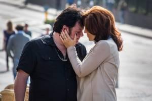 Bloed, Zweet & Tranen: Martijn Fischer (André Hazes) en Hadewych Minis (Rachel Hazes)