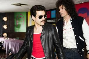 Rami Malek (Freddie Mercury) en Gwilym Lee (Brian May)
