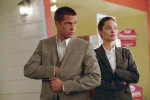 Brad Pitt en Angelina Jolie zijn Mr. and Mrs. Smith