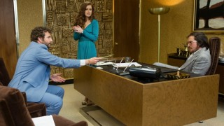 Bradley Cooper, Amy Adams en Christian Bale in American Hustle