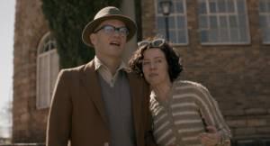 Bram Fischer: Peter Paul Muller (Bram Fischer) en Antoinette Louw (Molly Fischer)