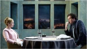 Brasserie Valentijn: Lies Visschedijk (Roos) en Mark Rietman (Paul)