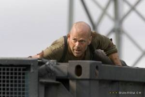 Bruce Willis in Die Hard 4.0