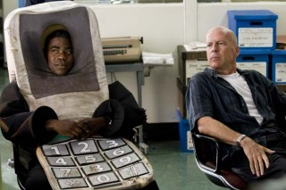 Tracy Morgan en Bruce Willis in Cop Out