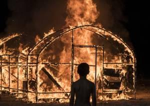 Burning filmstill