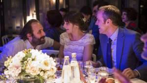C'est la vie!: Vincent Macaigne (Julien) en Judith Chemla (Héléna, la mariée)