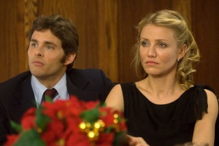 Cameron Diaz en James Marsden in The Box