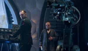 Captain America: The First Avenger: Hugo Weaving (Johann Schmidt / The Red Skull) en Toby Jones (Arnim Zola)