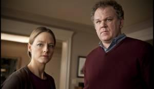Carnage: Jodie Foster (Penelope Longstreet) en John C. Reilly (Michael Longstreet)