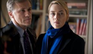 Carnage: Christoph Waltz (Alan Cowan) en Kate Winslet (Nancy Cowan)