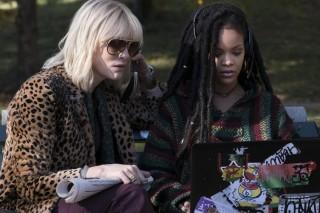 Cate Blanchett en Rihanna in Ocean's 8