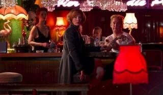 Cate Blanchett en Tom Hollander in Hanna