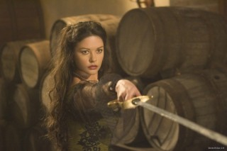 Catherine Zeta-Jones in The Legend of Zorro