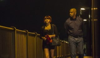 Chloë Grace Moretz en Denzel Washington in The Equalizer