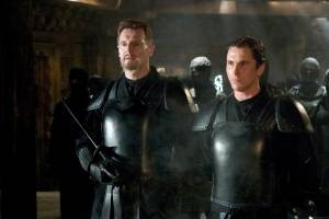 Liam Neeson en Christian Bale
