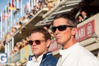 Matt Damon en Christian Bale in Le Mans '66