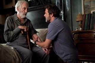 Christopher Lee en Jeffrey Dean Morgan in The Resident