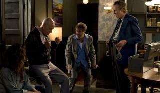 Alan Arkin, Al Pacino en Christopher Walken in Stand Up Guys