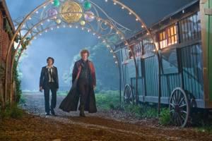 Cirque Du Freak: The Vampire's Assistant: John C. Reilly (Larten Crepsley) en Chris Massoglia (Darren Shan)