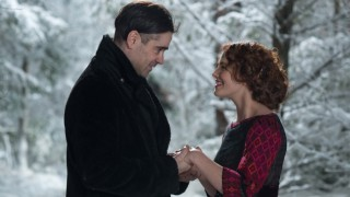 Colin Farrell en Jessica Brown Findlay in Winter's Tale