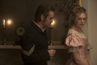 Colin Farrell en Elle Fanning in The Beguiled