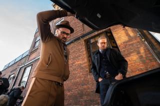 Colin Farrell en Charlie Hunnam in The Gentlemen