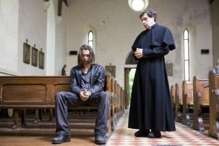 Colin Farrell en Stephen Rea in Ondine