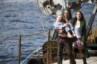 Alicja Bachleda-Curus en Colin Farrell in Ondine