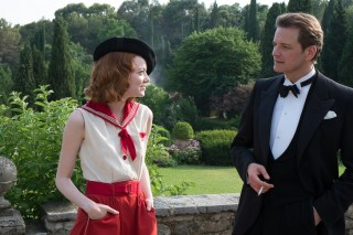 Emma Stone en Colin Firth in Magic in the Moonlight