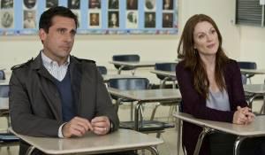 Crazy, Stupid, Love.: Steve Carell (Cal Weaver) en Julianne Moore (Emily Weaver)