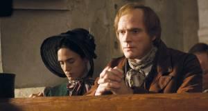 Paul Bettany (Charles Darwin) en Jennifer Connelly (Emma Darwin)