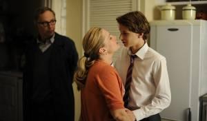 Dans la maison: Kristin Scott Thomas (Jeanne) en Fabrice Luchini (Germain)