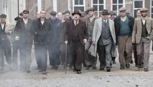 De Bende van Oss: Benja Bruijning (Jan), Matthias Schoenaerts (Ties van Heesch), Marcel Musters (Wim de Kuyper) en Frank Lammers (Harry den Brock)