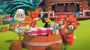 De Fabeltjeskrant & De Grote Dierenbos-spelen filmstill