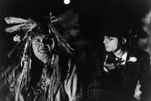 Gary Farmer en Johnny Depp