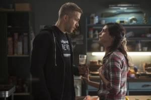 Deadpool: Ryan Reynolds (Wade Wilson / Deadpool) en Morena Baccarin (Vanessa Carlysle / Copycat)