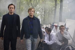 Demain dès l'aube: Vincent Perez (Mathieu) en Jérémie Renier (Paul)